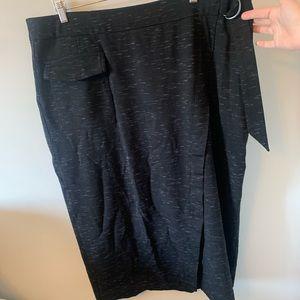 2/$18 Pennington's / Faux Wrap / Midi / Skirt